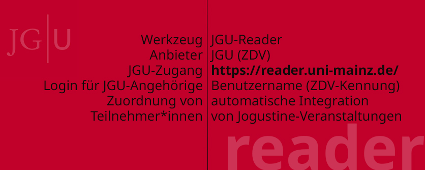 Reader.Uni-Mainz